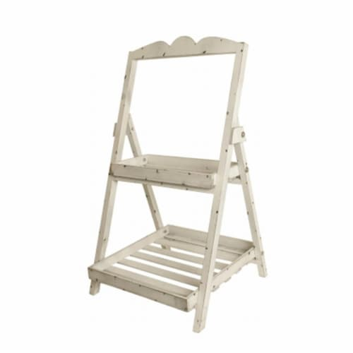 2 Tiered Garden Ladder Perspective: front