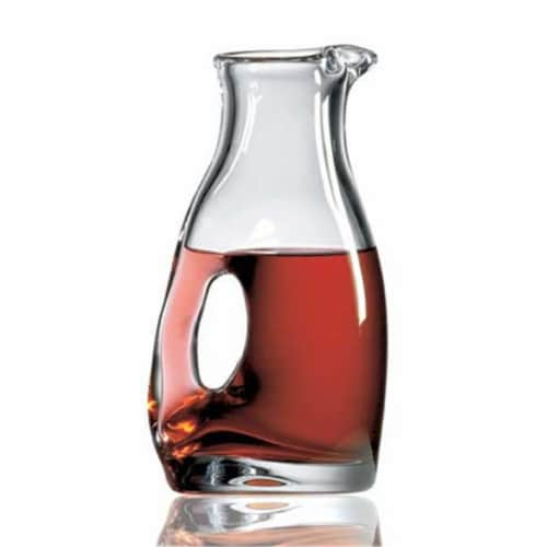 Rooster Decanter Perspective: front