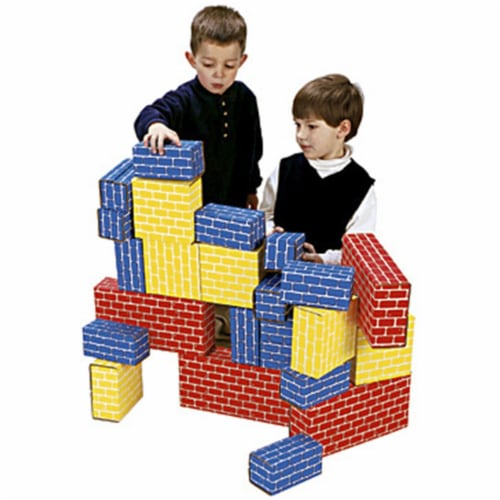 24pc Giant Building Block set Perspective: front