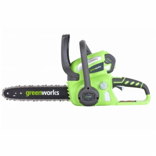 40V Gmax Chainsaw With 2.0Ah Battery And Charger Perspective: front
