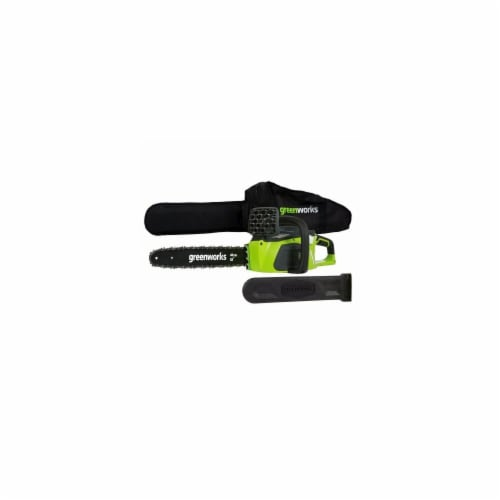 40V Gmax Digipro Brushless Chainsaw Perspective: front