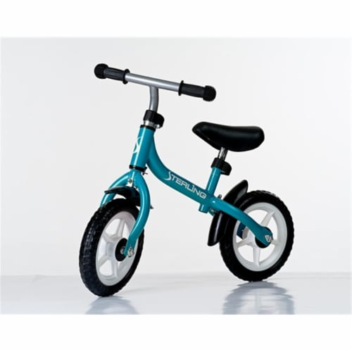 10 in. Balance Bike in Light Blue Perspective: front