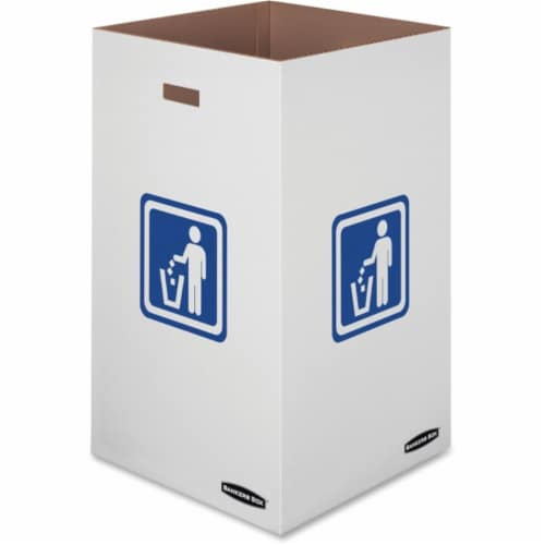 42 gal Recycling Waste Bins - Medium Perspective: front