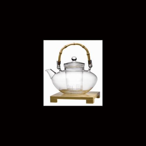 Tea for More Teapot - 48oz Perspective: front