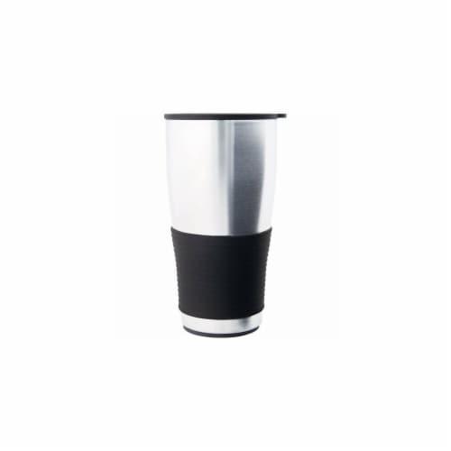 16 oz. Travel Beverage Tumbler Steel Perspective: front