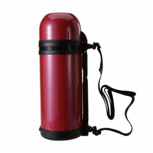 51 oz. Alpine Insulated Vacuum Bottle - Magenta Red Perspective: front