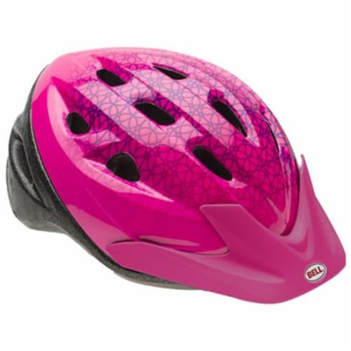 7063276 Child Girls Pink Helmet Perspective: front