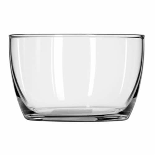 Glass 70300 16 oz. Glass Bowl With Lid - Pack Of 12 Perspective: front