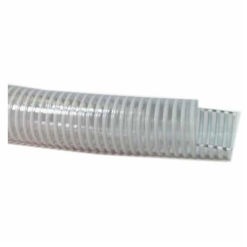 97017502 2 in. x 100 ft. Medium Duty PVC Water Suction Hose, Clear Perspective: front