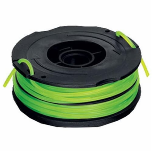DF-080 .08 in. Replacement Spool Trimmer Line, Black Perspective: front