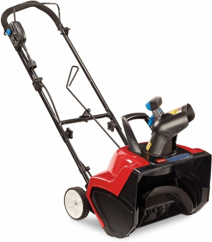 38381 18 in. 15 Amp Electric 1800 Power Curve Snow Blower Perspective: front