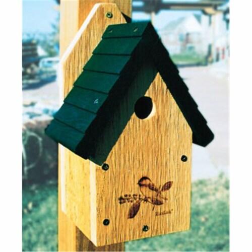 Garden Wren-Chickadee House Perspective: front