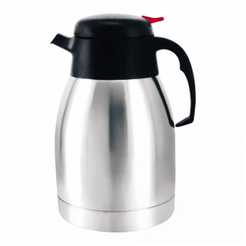 1000ml Stainless Steel Vacuum Coffee Pot Perspective: front
