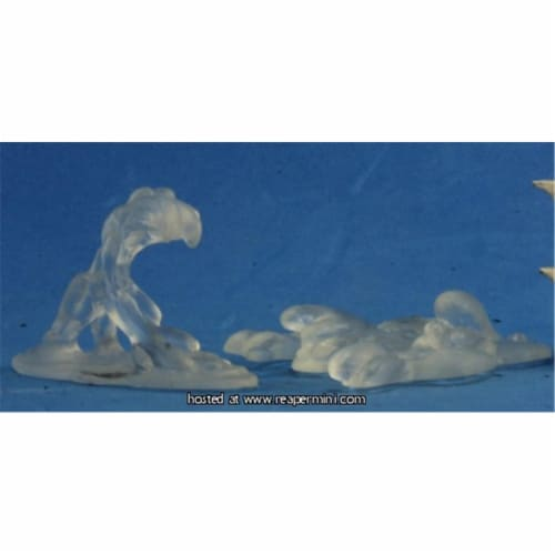 25mm Scale Translucent Slimes, Kevin Williams - Pack of 2 Perspective: front