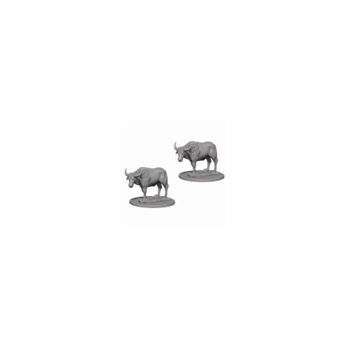 Pathfinder Deep Cuts Miniaturess of Oxen W4 Perspective: front