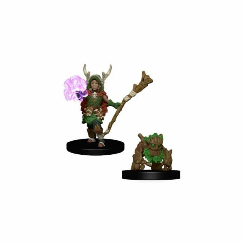 Wardlings - Boy Druid & Tree Creature Perspective: front