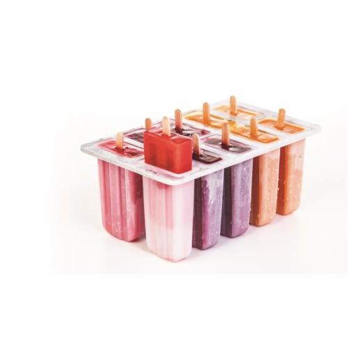 Prepworks Freezer Pop Maker  Plastic Clear 10 Freezer Pops - pack of 6 Perspective: front