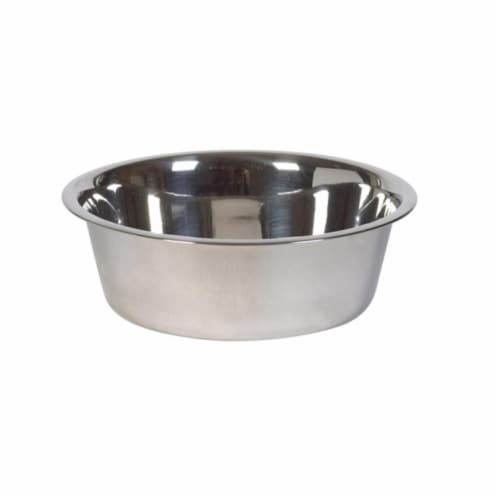 56630 Stainless Steel 3 Quart Pet Dish Perspective: front