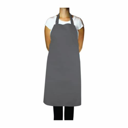 6002-1418 Chef Cotton Apron  35 in. Perspective: front