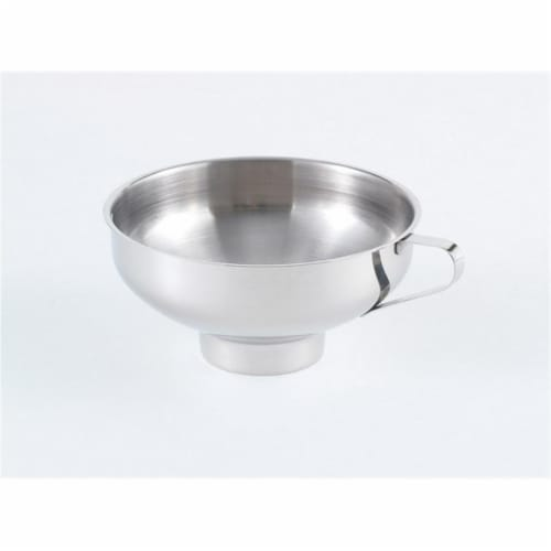 Stainless Steel Canning Funnel Perspective: front
