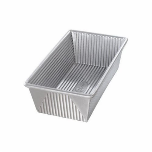 Steel Rectangular Loaf Pan Perspective: front