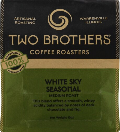 Two Brothers White Sky Seasonal Coffee Perspective: front