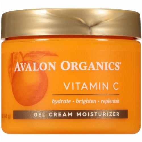 Avalon Organics Vitamin C Gel Cream Moisturizer Perspective: front