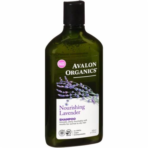 Avalon Organics Nourishing Lavender Shampoo Perspective: front