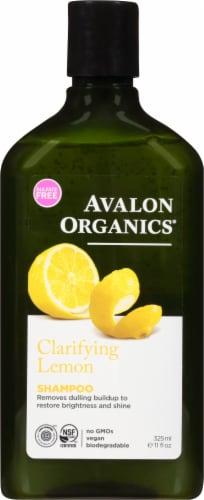 Avalon Organics Lemon Clarifying Shampoo Perspective: front
