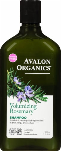 Avalon Organics Volumizing Rosemary Shampoo Perspective: front