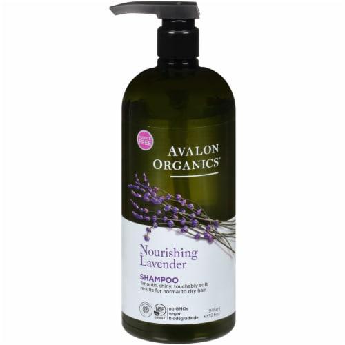 Avalon Organics Lavender Nourish Shampoo Perspective: front