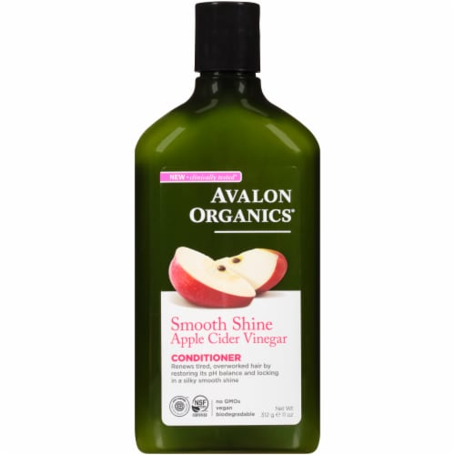 Avalon Conditioner - Smoothing - Apple Cider Vinegar - 11 oz Perspective: front
