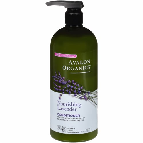 Avalon Organics Lavender Nourish Conditioner Perspective: front