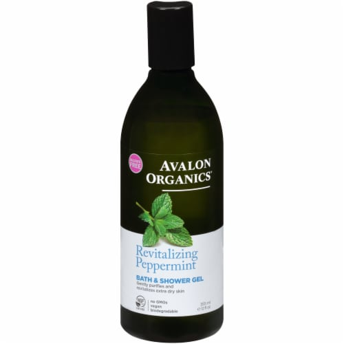 Avalon Organics Mint Bath and Shower Gel Perspective: front