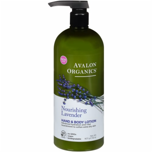 Avalon Organics Lavender Hand & Body Lotion Perspective: front