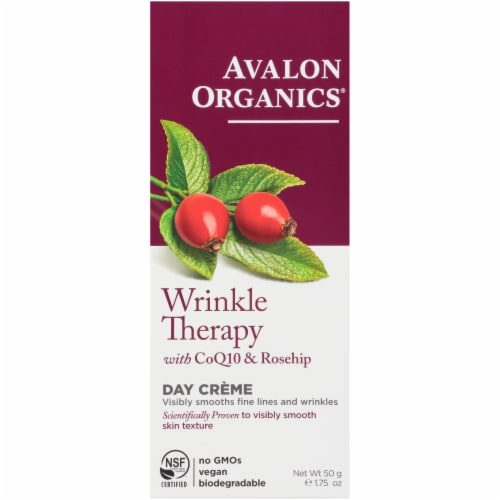 Avalon Organics CoQ10 Repair Wrinkle Therapy Day Creme Perspective: front