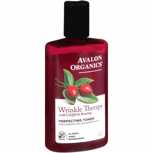 Avalon Organics Wrinkle Therapy Perfecting Toner Perspective: front