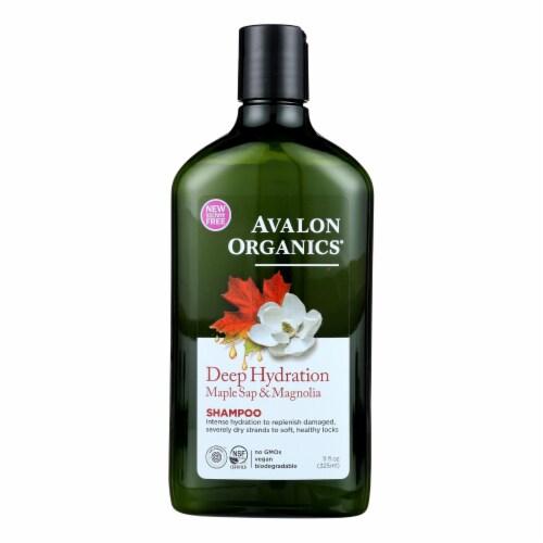 Avalon Organic - Shampoo Deep Hydration - 1 Each - 11 OZ Perspective: front