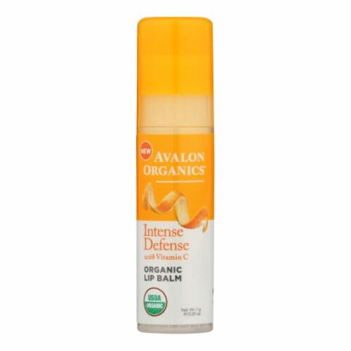 Avalon Vitamin C Lip Balm Perspective: front