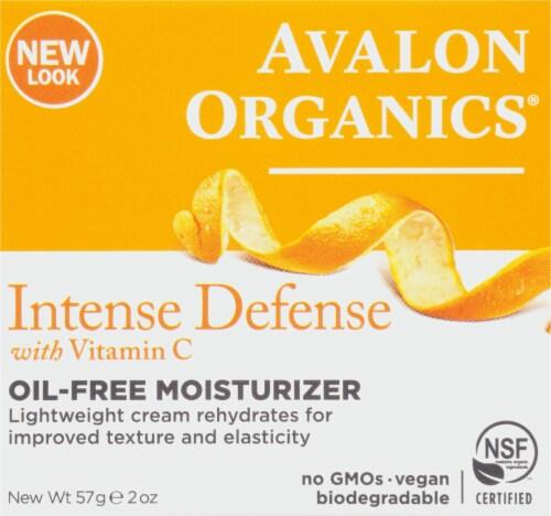 Avalon Organics Vitamin C Rejuvenating Oil Free Moisturizer Perspective: front