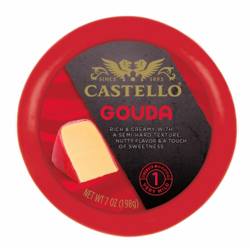 Castello Gouda Round Cheese Perspective: front