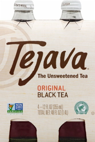 Tejava Premium Unsweetened Iced Tea Perspective: front