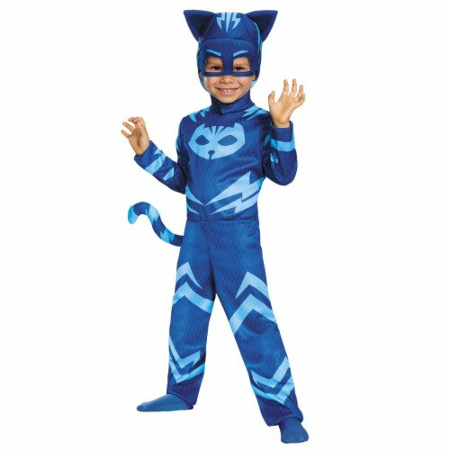 Morris Costumes DG17145M Catboy Classic Toddler Costume, Size 3 - 4 Tall Perspective: front