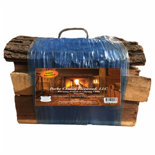 Parke County Firewood Packaged Firewood Perspective: front
