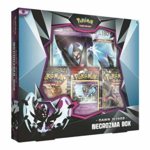 Pokemon Dawn Wings Necrozma Box Necrozma-GX TCG Trading Card Game Collectible Perspective: front