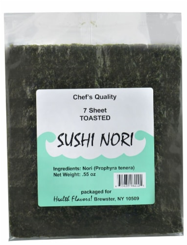 Health Flavors Sushi Nori Toasted Perspective: front