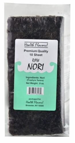 Health Flavors Premium Quality Raw Nori Perspective: front
