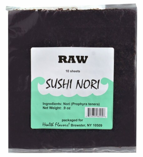 Health Flavors Sushi Nori Perspective: front