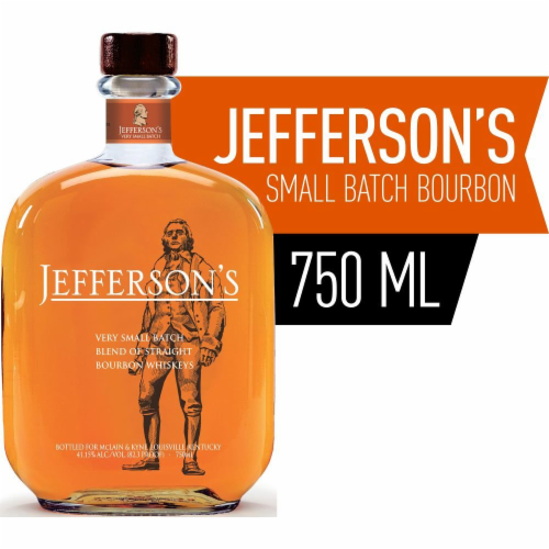 Jefferson's Bourbon Very Small Batch Perspective: front