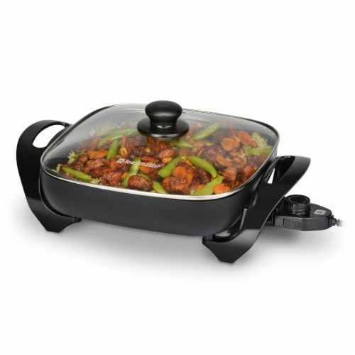 Select Brands Toastmaster Electric Skillet - Black Perspective: front